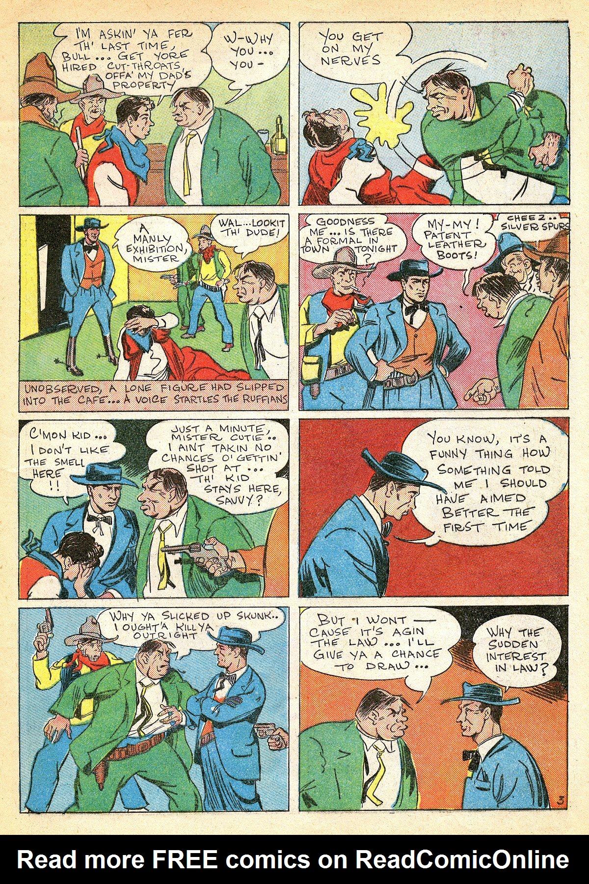 Read online Amazing Man Comics comic -  Issue #10 - 16
