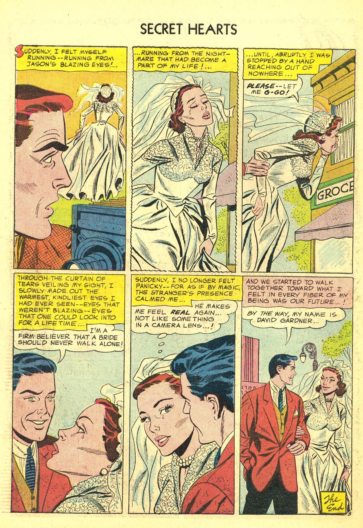 Read online Secret Hearts comic -  Issue #34 - 34