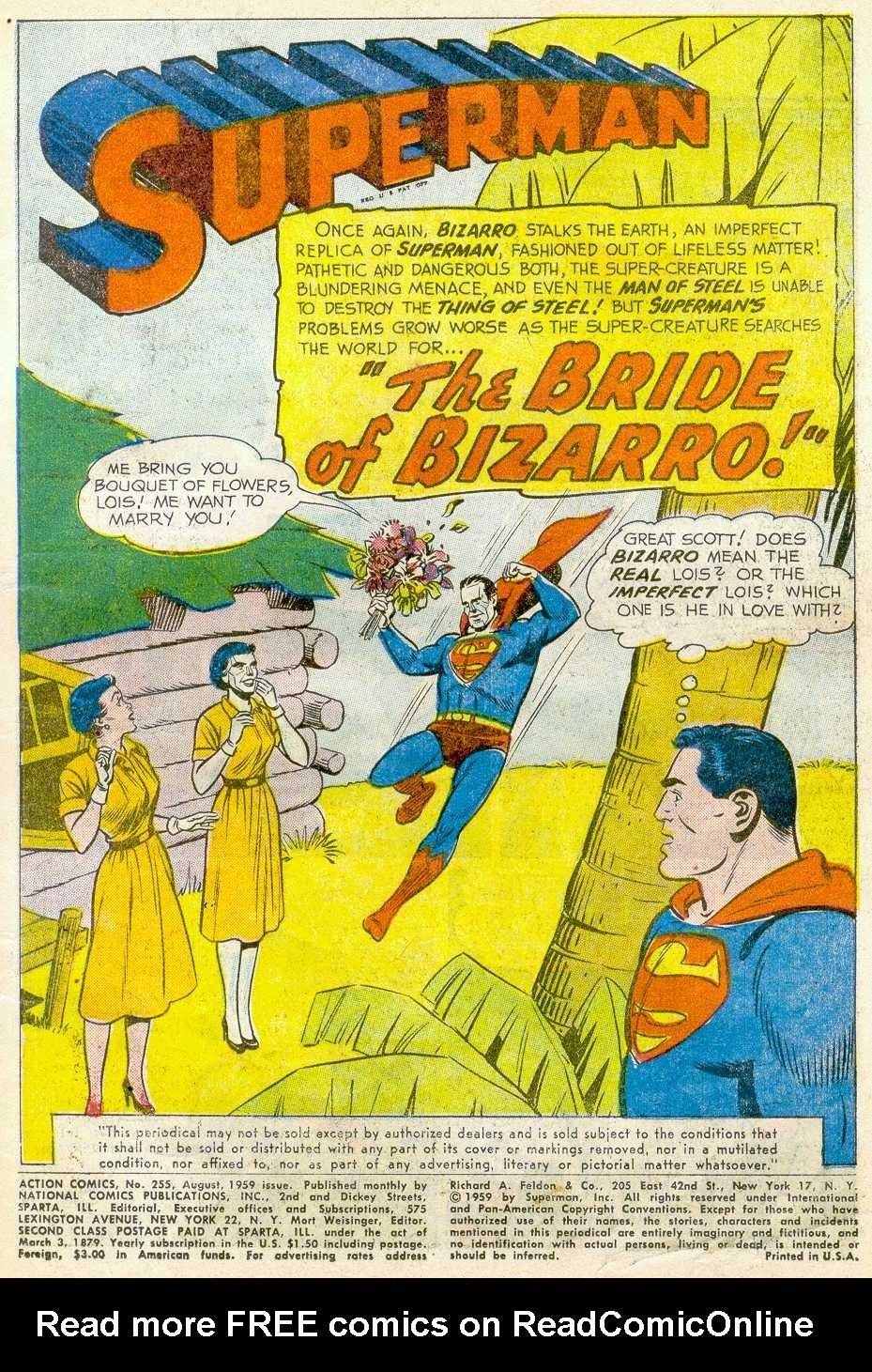Action Comics (1938) 255 Page 2