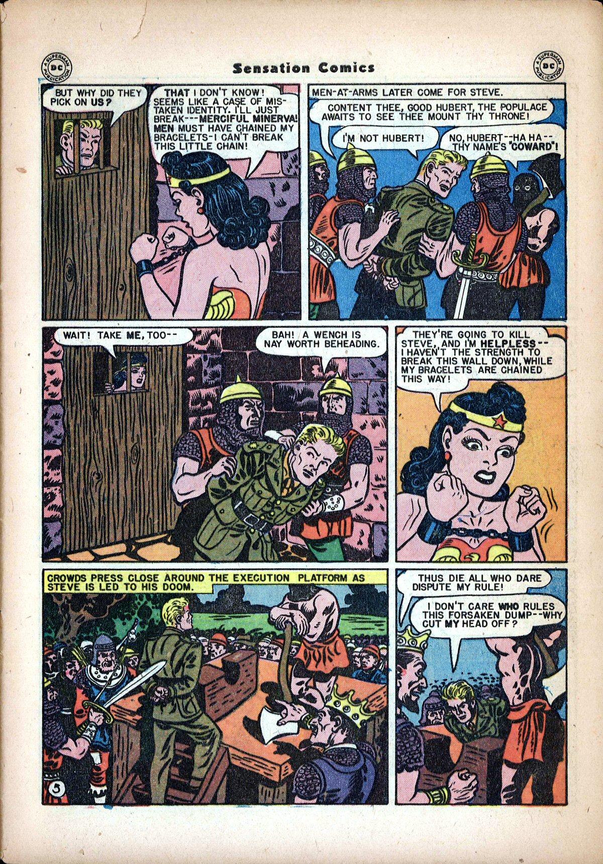 Read online Sensation (Mystery) Comics comic -  Issue #62 - 7