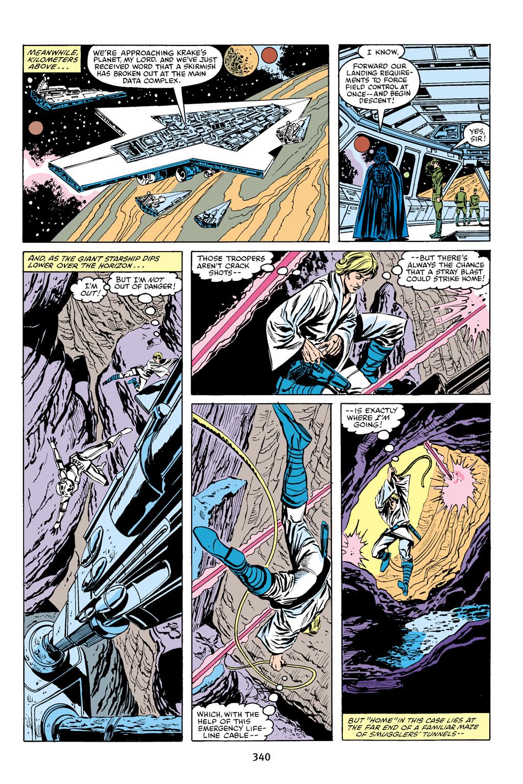Read online Star Wars Omnibus comic -  Issue # Vol. 16 - 334