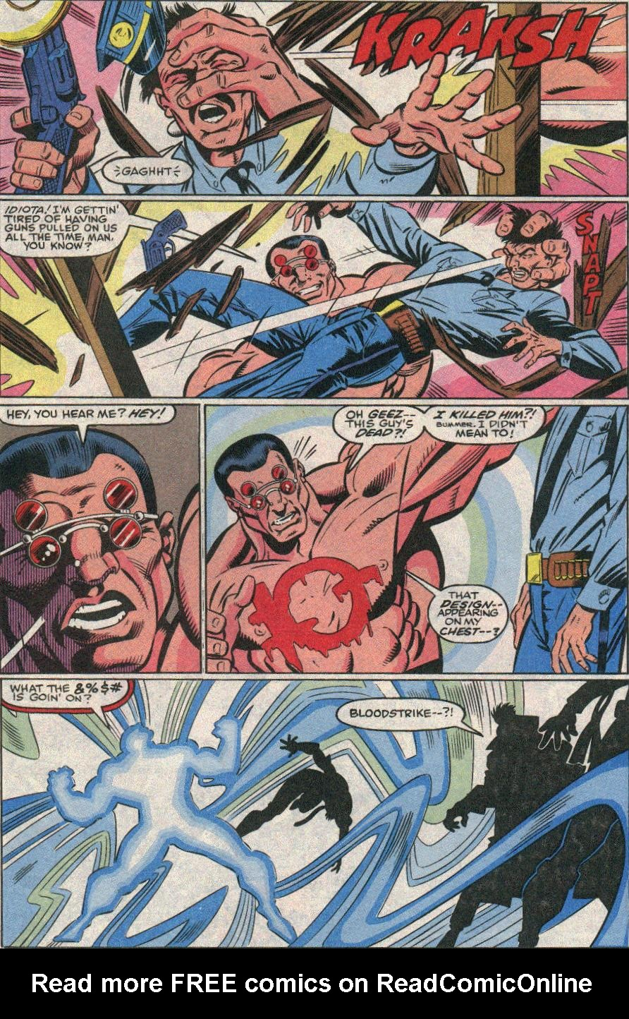 The New Warriors Issue #21 #25 - English 15