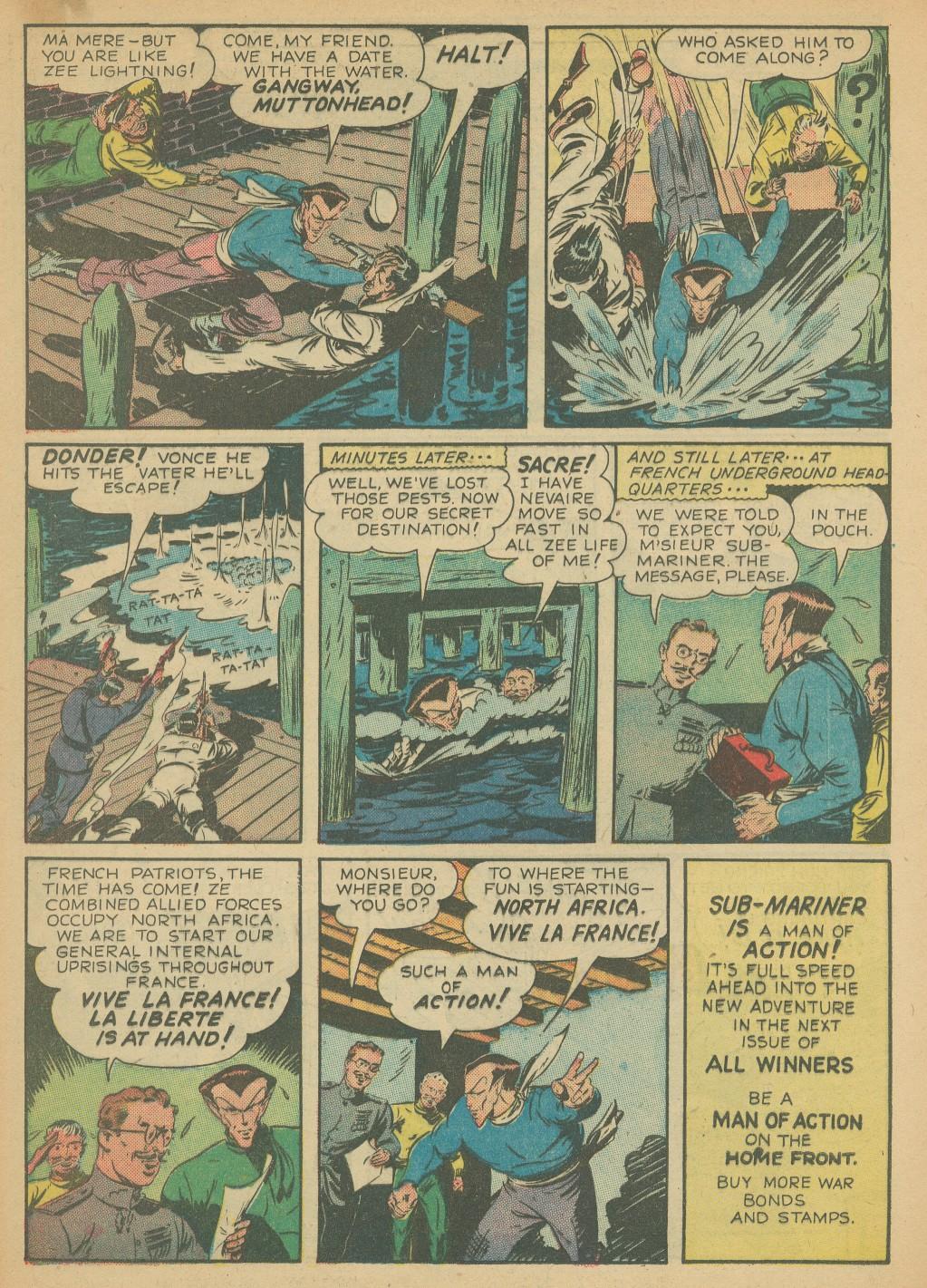 Read online All-Winners Comics comic -  Issue #8 - 40