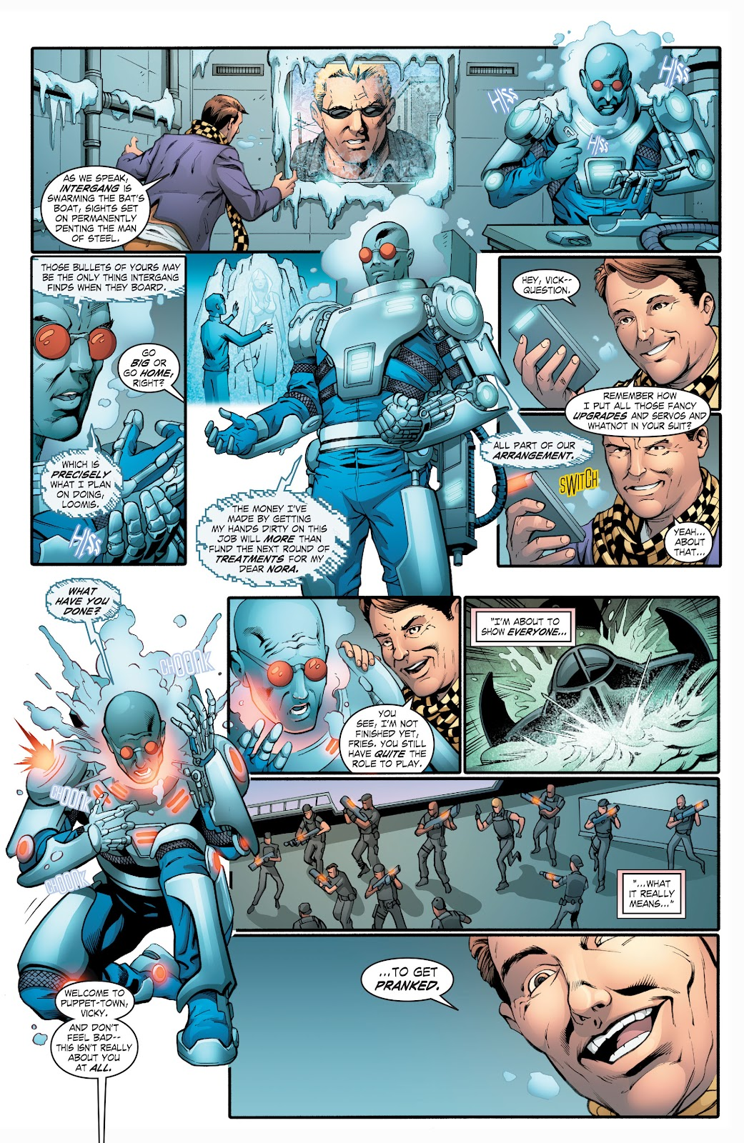 Read online Smallville Season 11 [II] comic -  Issue # TPB 2 - 112