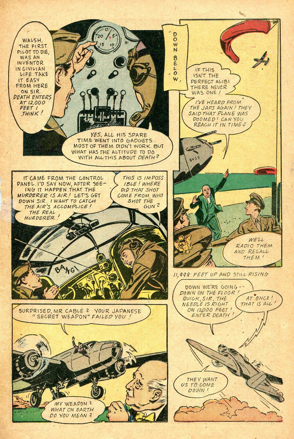 Read online Shadow Comics comic -  Issue #47 - 32