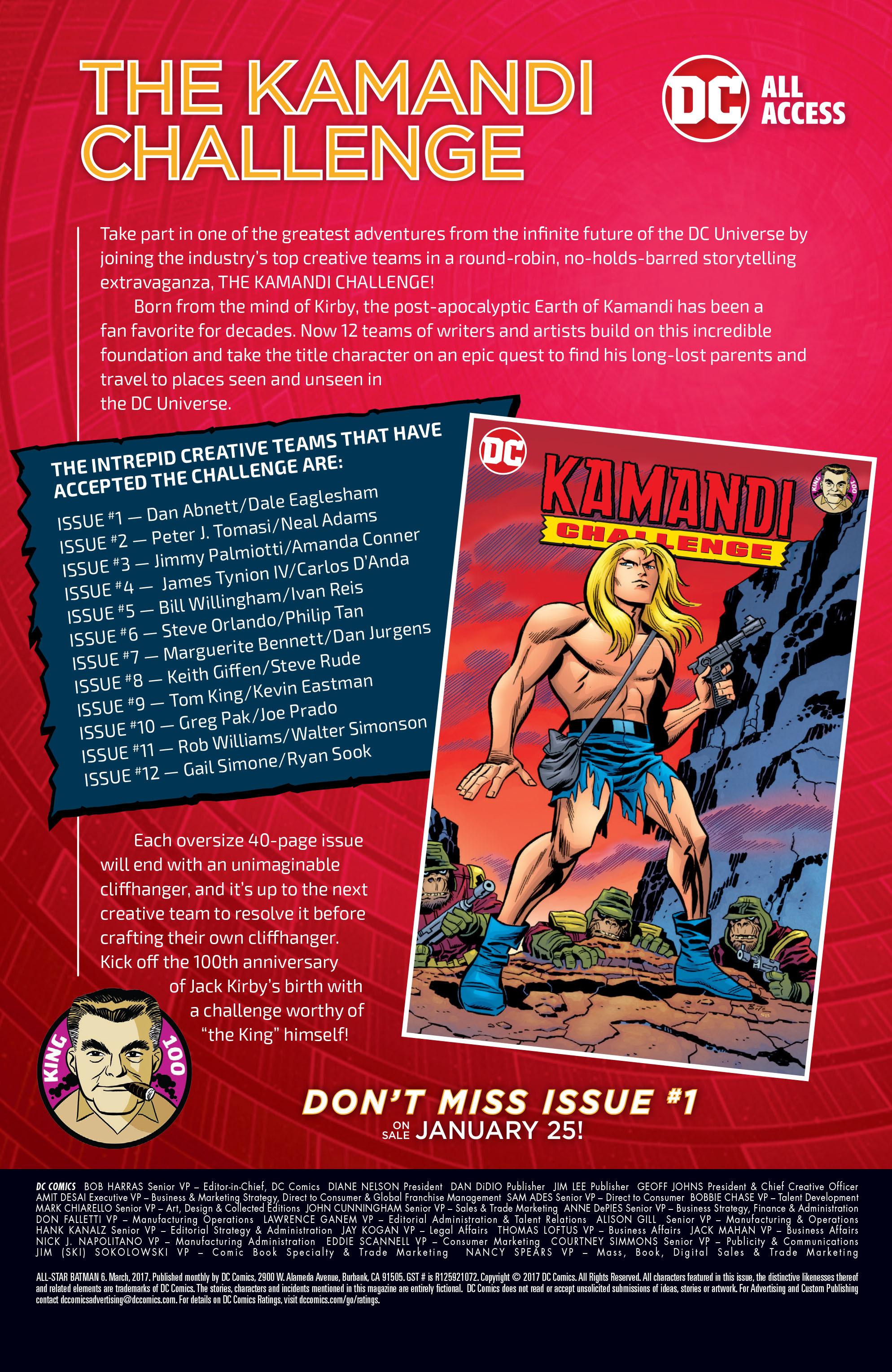 Read online All-Star Batman comic -  Issue #6 - 34