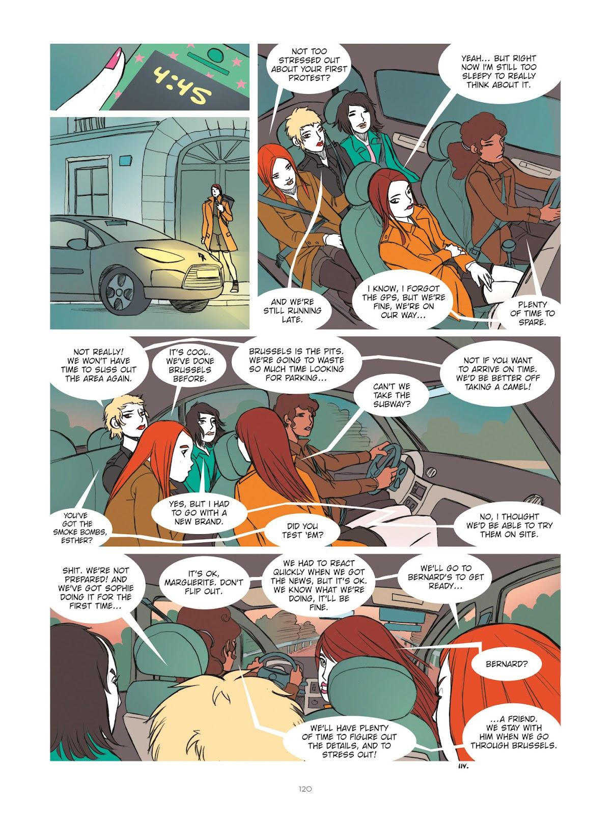 Read online Diary of A Femen comic -  Issue # TPB - 122