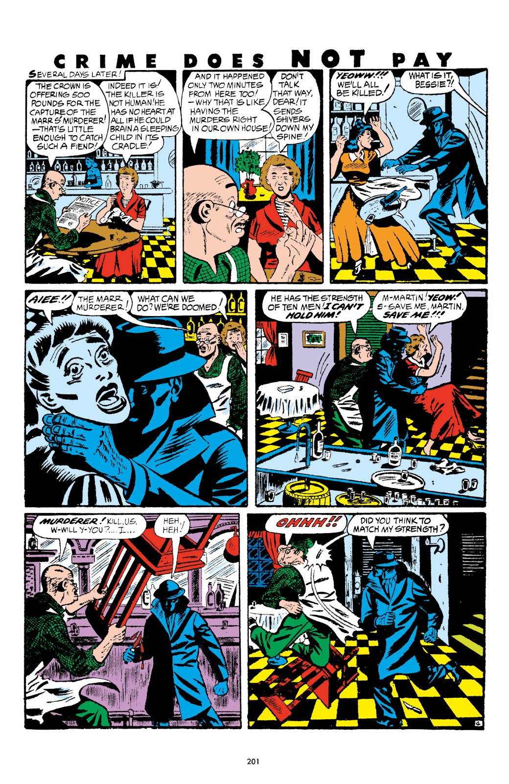 Read online Crime Does Not Pay Archives comic -  Issue # TPB 5 (Part 3) - 1