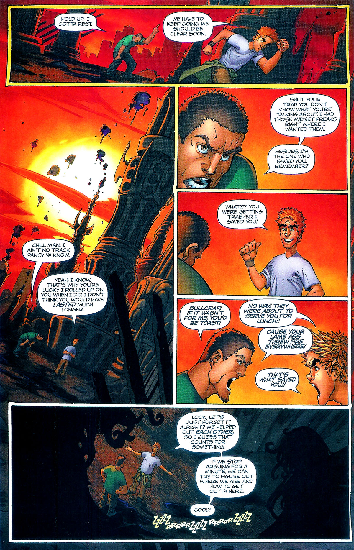 Read online Shrugged (2006) comic -  Issue #5 - 19