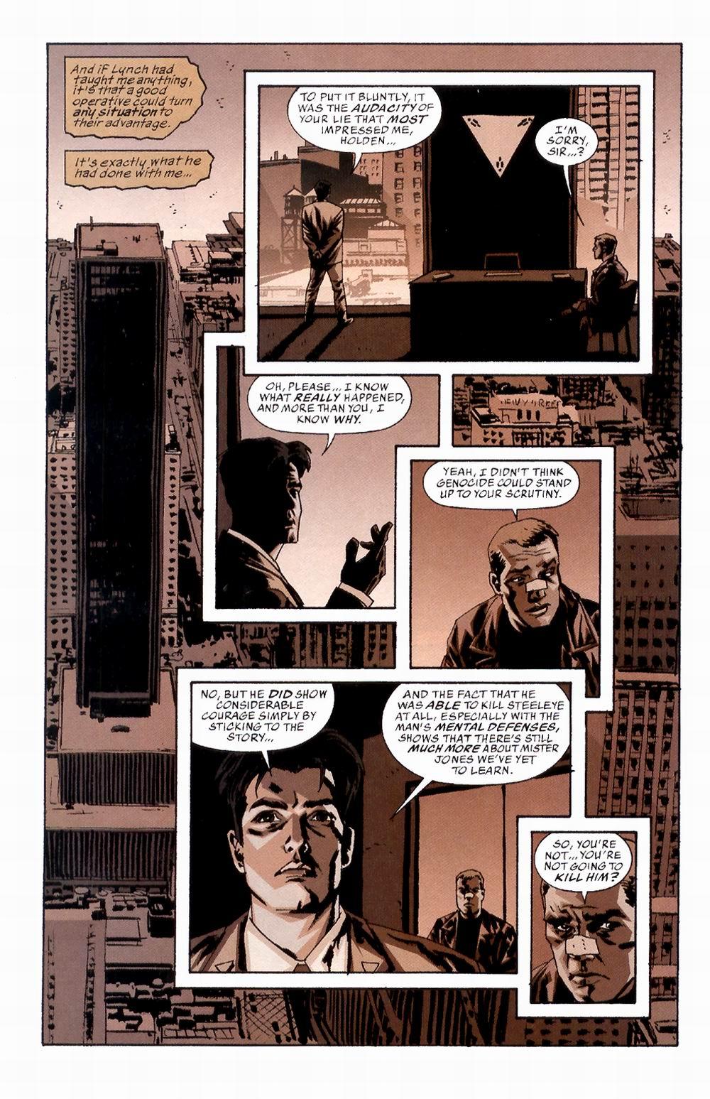 Read online Sleeper comic -  Issue #2 - 25