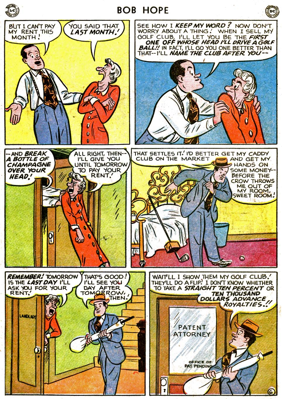 The Adventures of Bob Hope issue 1 - Page 8