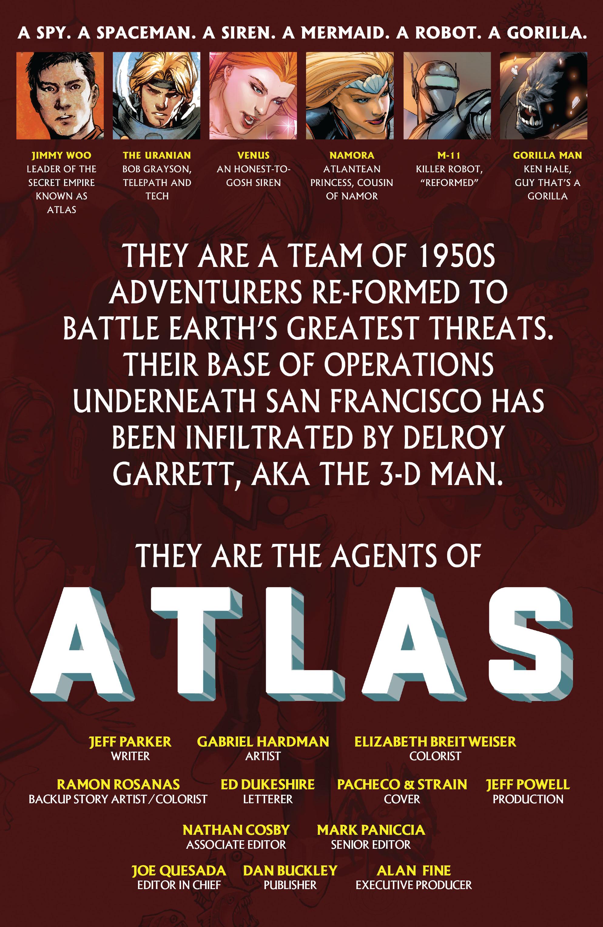 Read online Atlas comic -  Issue #2 - 2