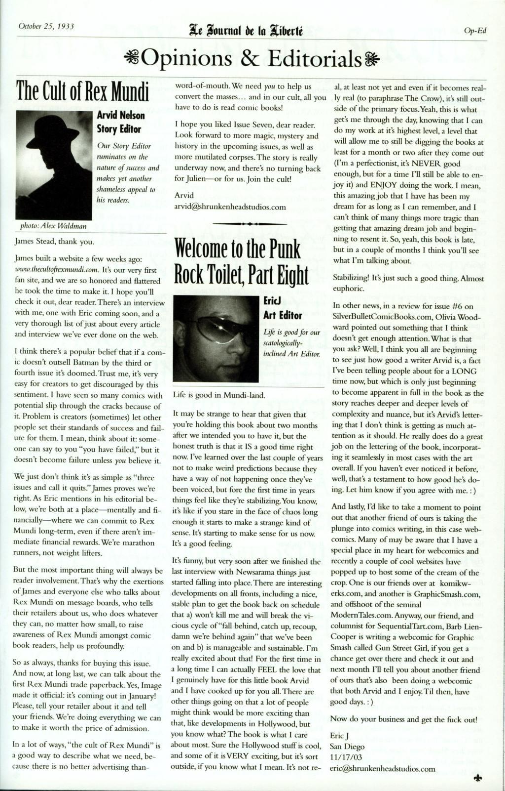 Read online Rex Mundi comic -  Issue #7 - 29