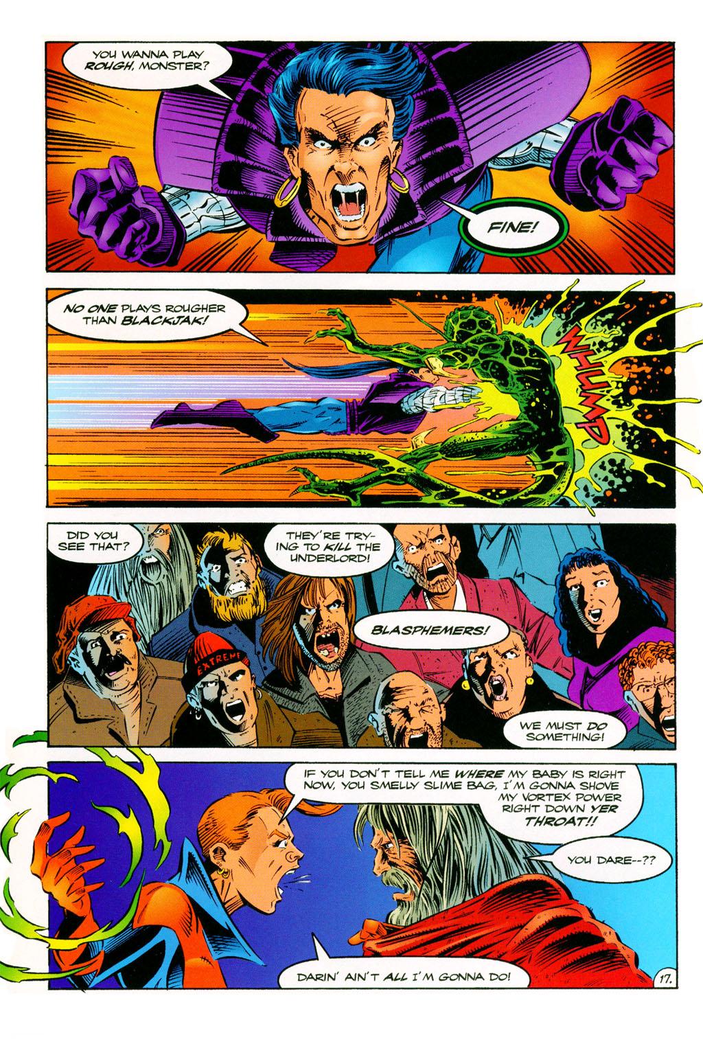 Read online ShadowHawk comic -  Issue #11 - 15