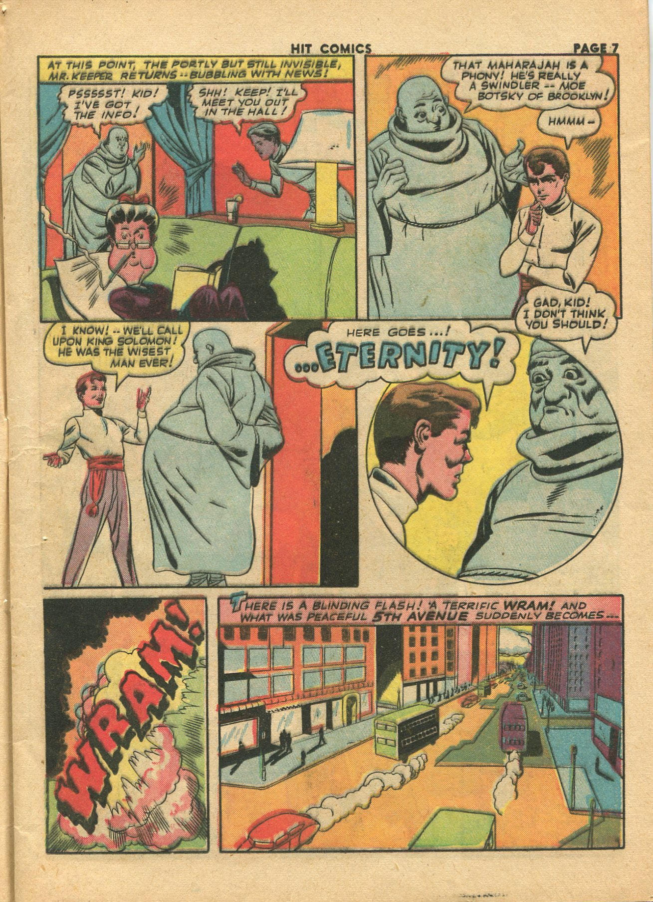 Read online Hit Comics comic -  Issue #28 - 10