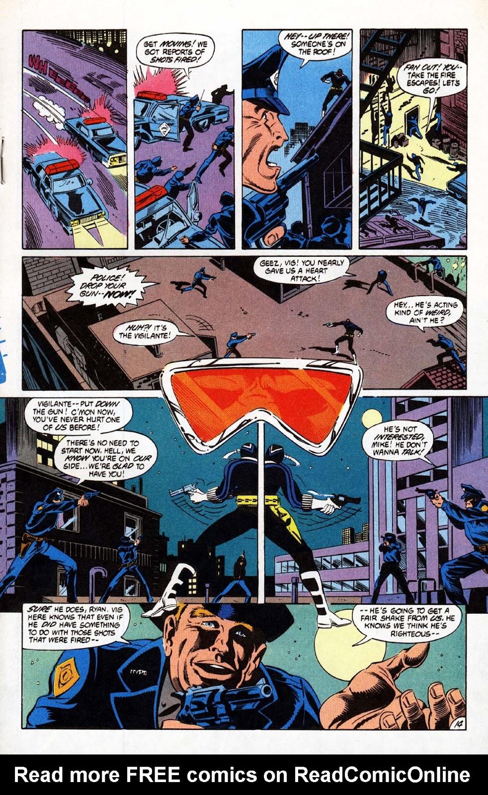 Vigilante (1983) issue 20 - Page 15