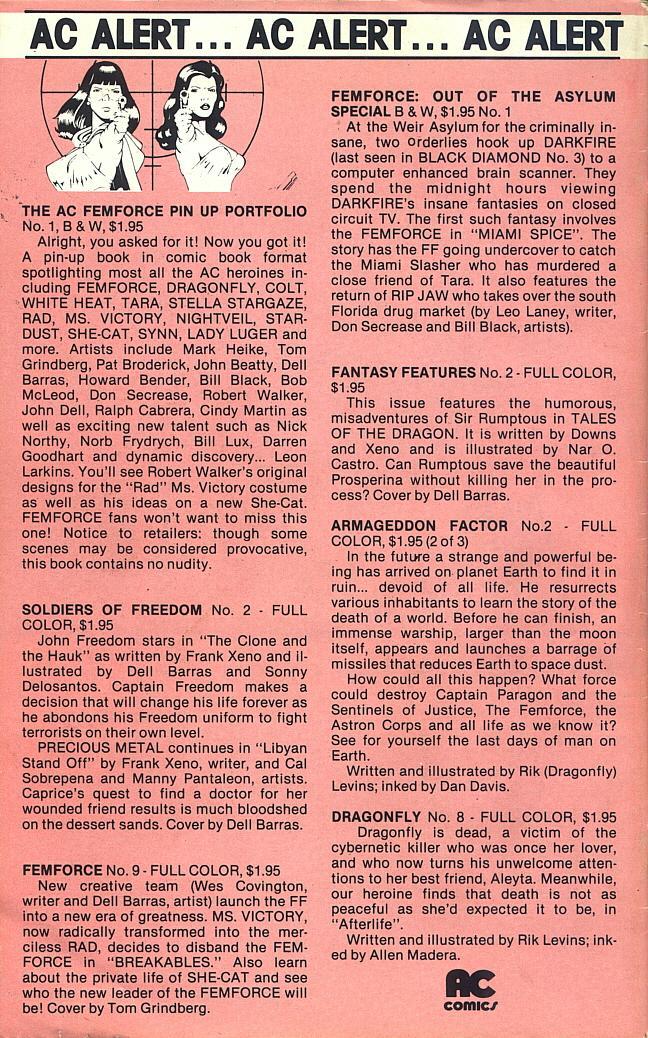 Femforce Issue #8 #8 - English 28