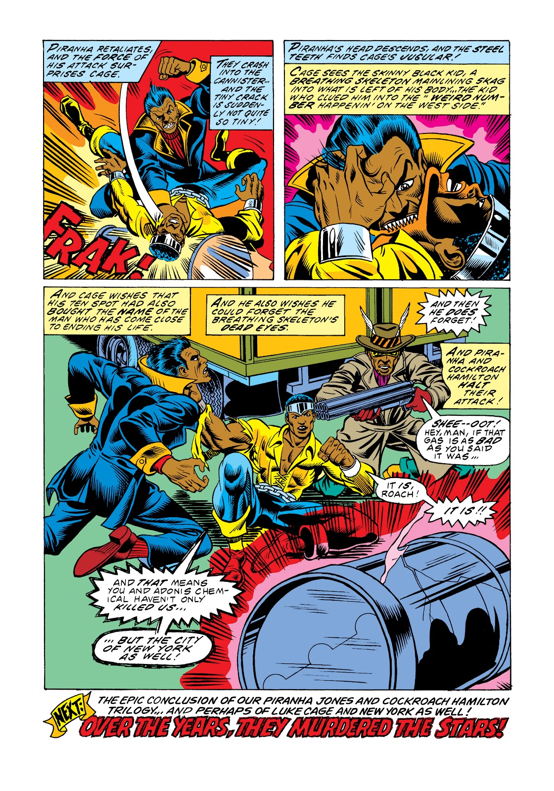 Read online Marvel Masterworks: Luke Cage, Power Man comic -  Issue # TPB 2 (Part 3) - 76