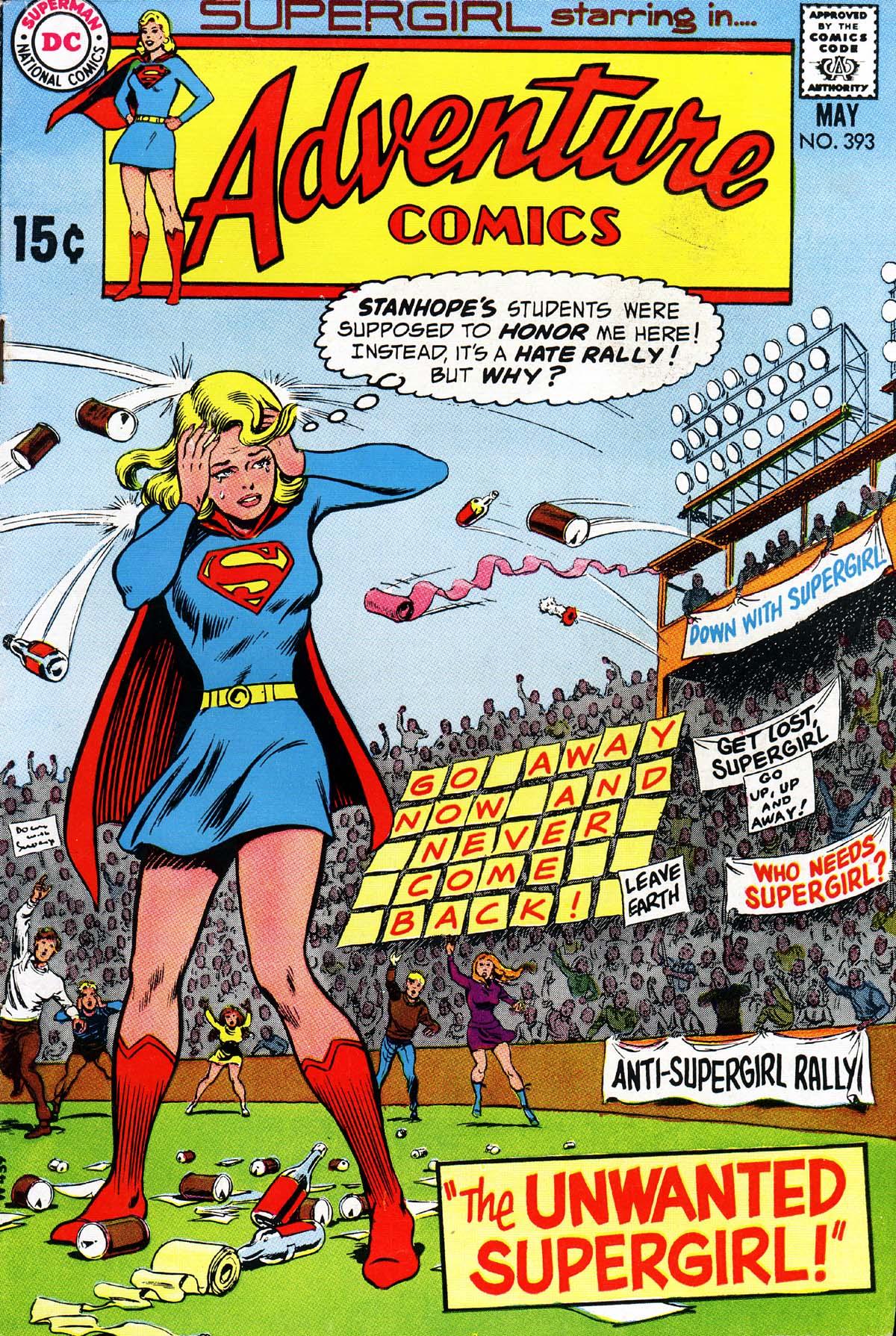 Read online Adventure Comics (1938) comic -  Issue #393 - 1