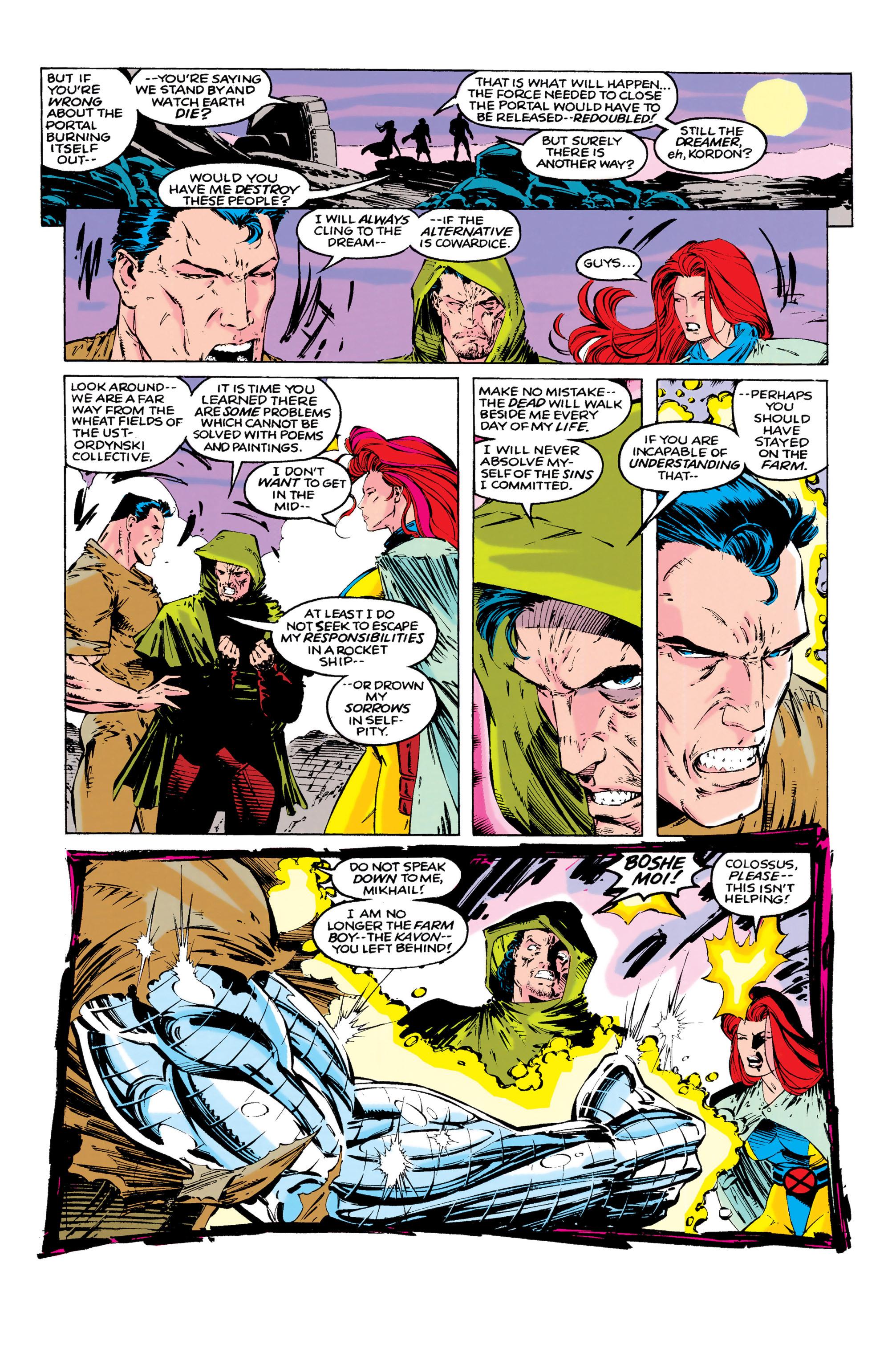 Read online Uncanny X-Men (1963) comic -  Issue #286 - 9