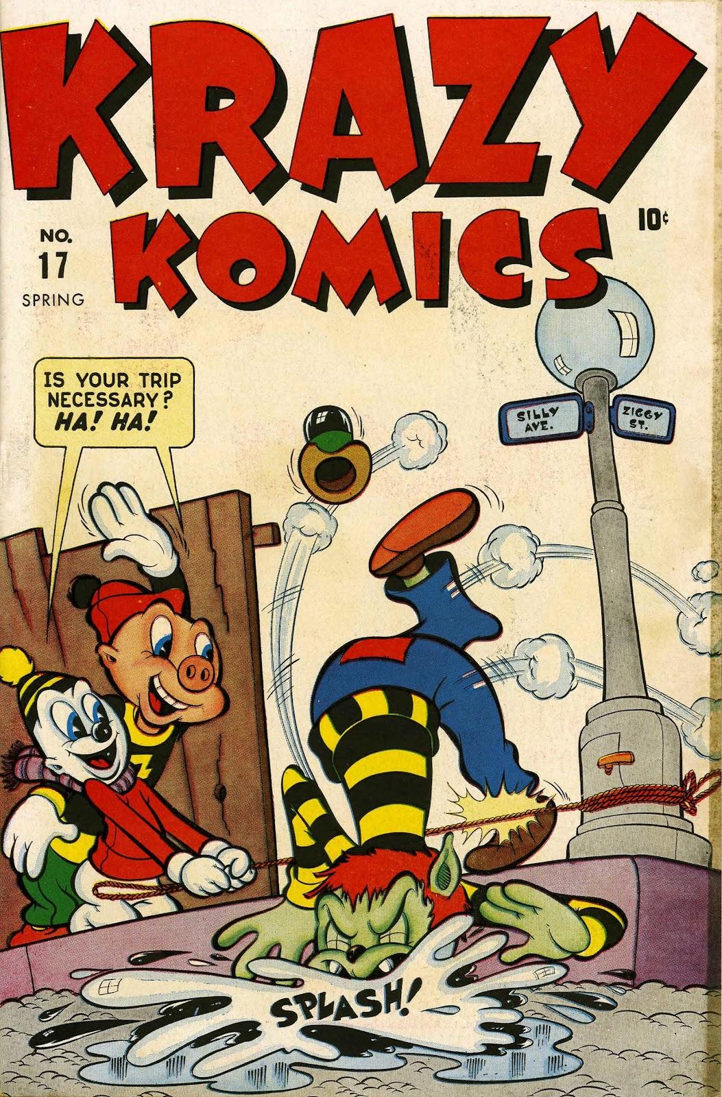 Krazy Komics issue 17 - Page 1