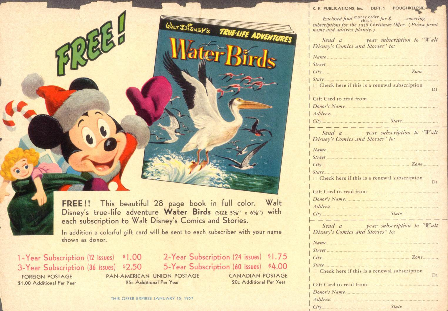 Walt Disney's Comics and Stories issue 196 - Page 35