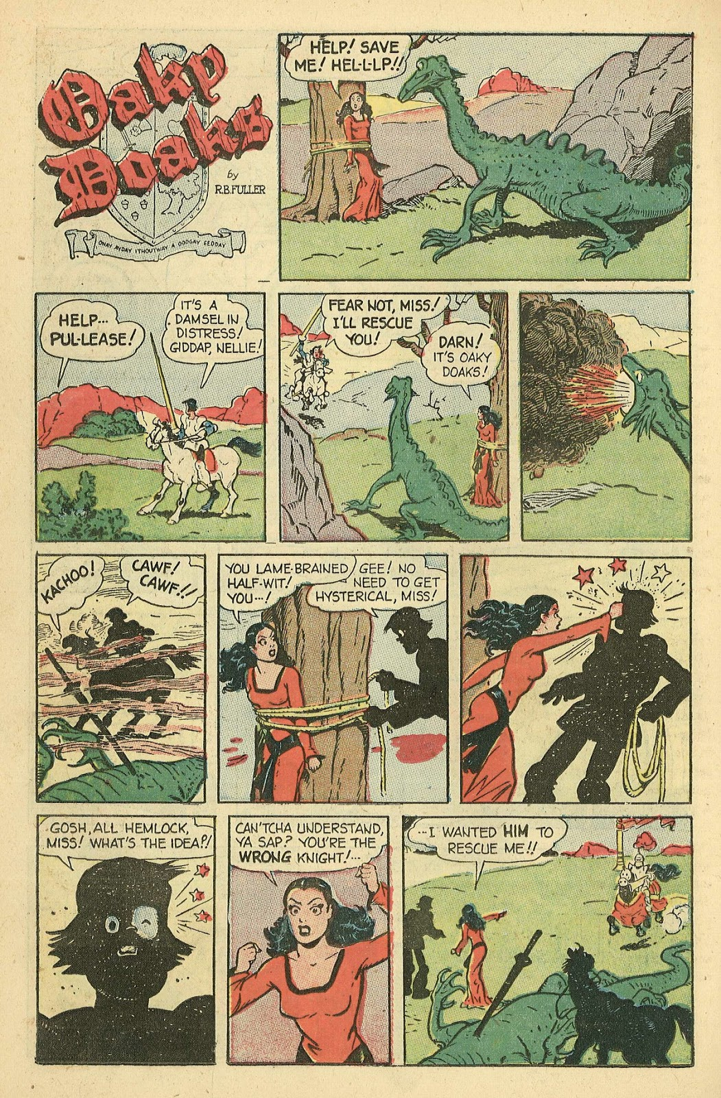 Read online Famous Funnies comic -  Issue #198 - 22