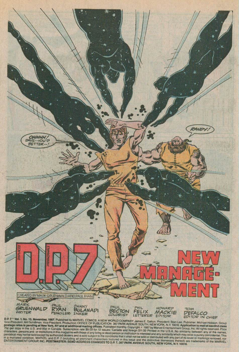 Read online DP7 comic -  Issue #13 - 2