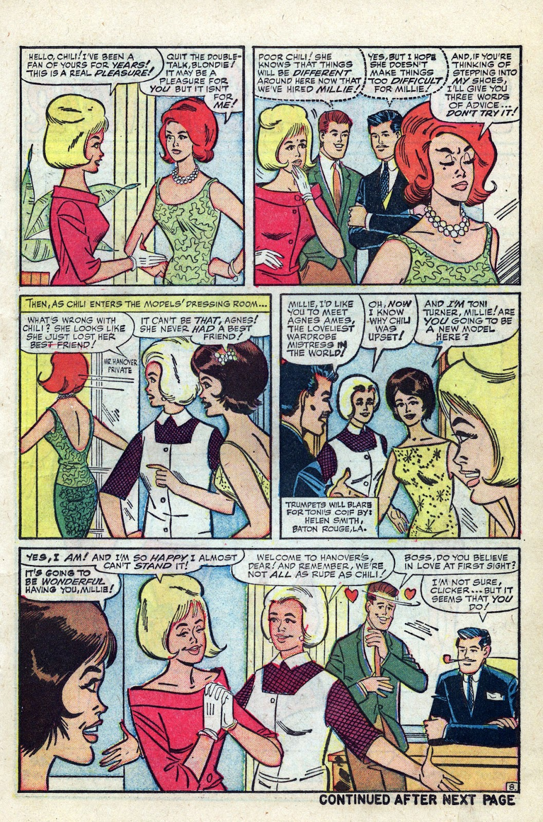 Read online Millie the Model comic -  Issue # Annual 3 - 29