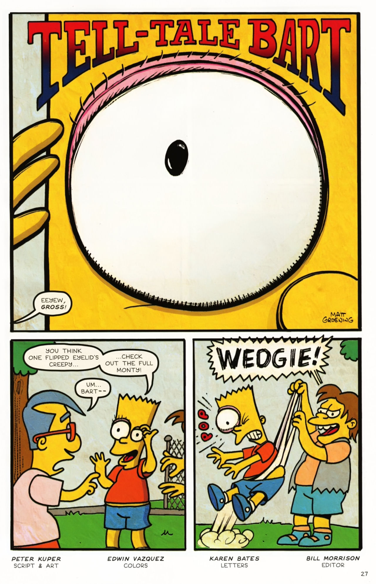 Read online Treehouse of Horror comic -  Issue #16 - 30