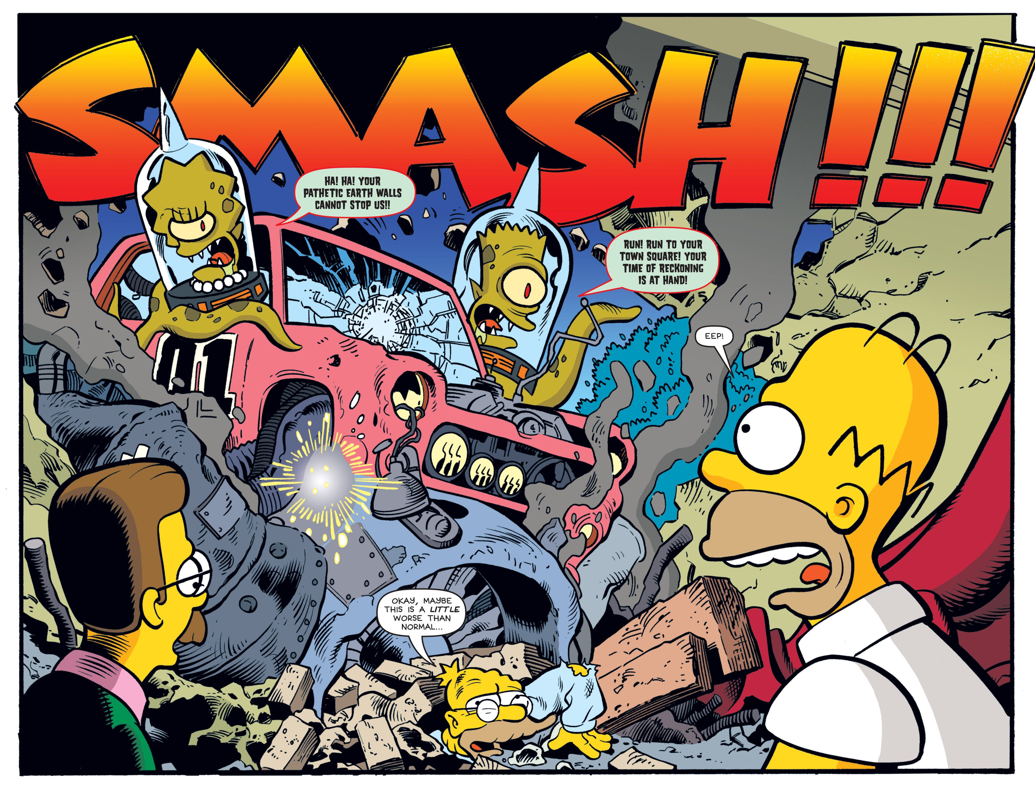 Read online Treehouse of Horror comic -  Issue #19 - 22