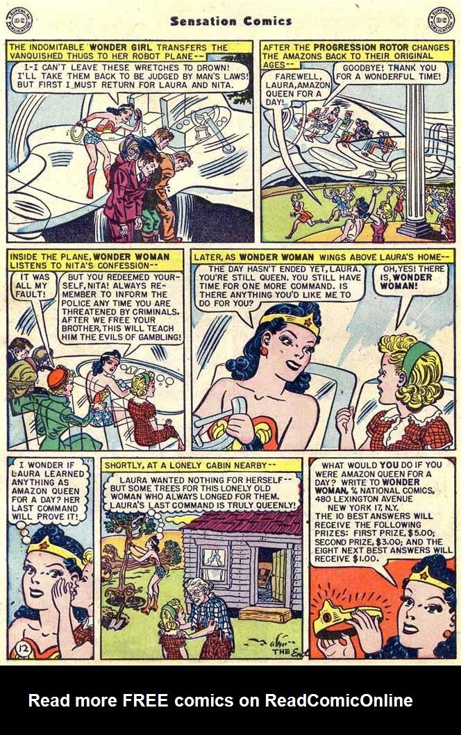 Read online Sensation (Mystery) Comics comic -  Issue #89 - 14