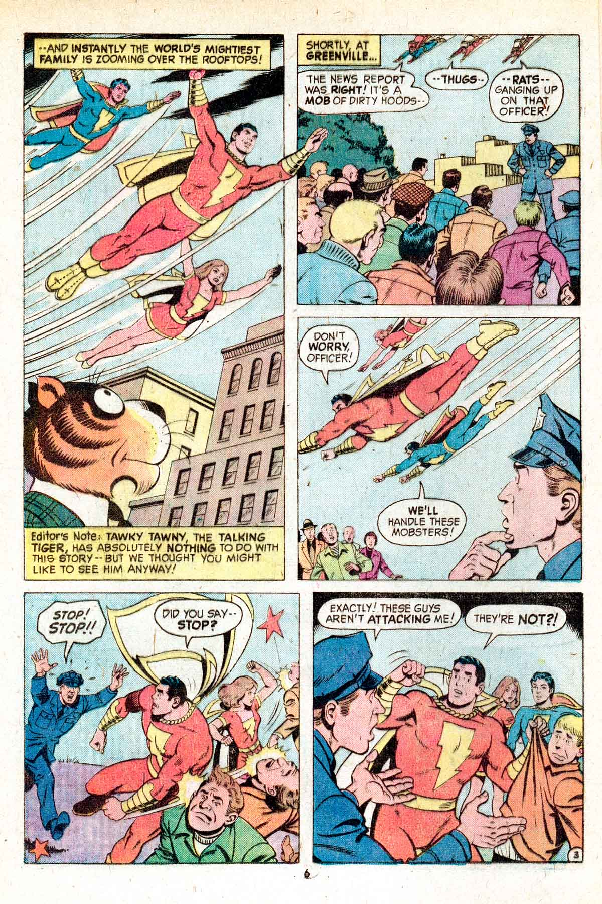 Read online Shazam! (1973) comic -  Issue #17 - 6