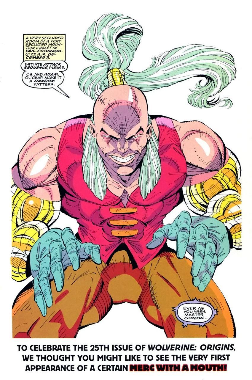 Read online Wolverine: Origins comic -  Issue #25 - 25