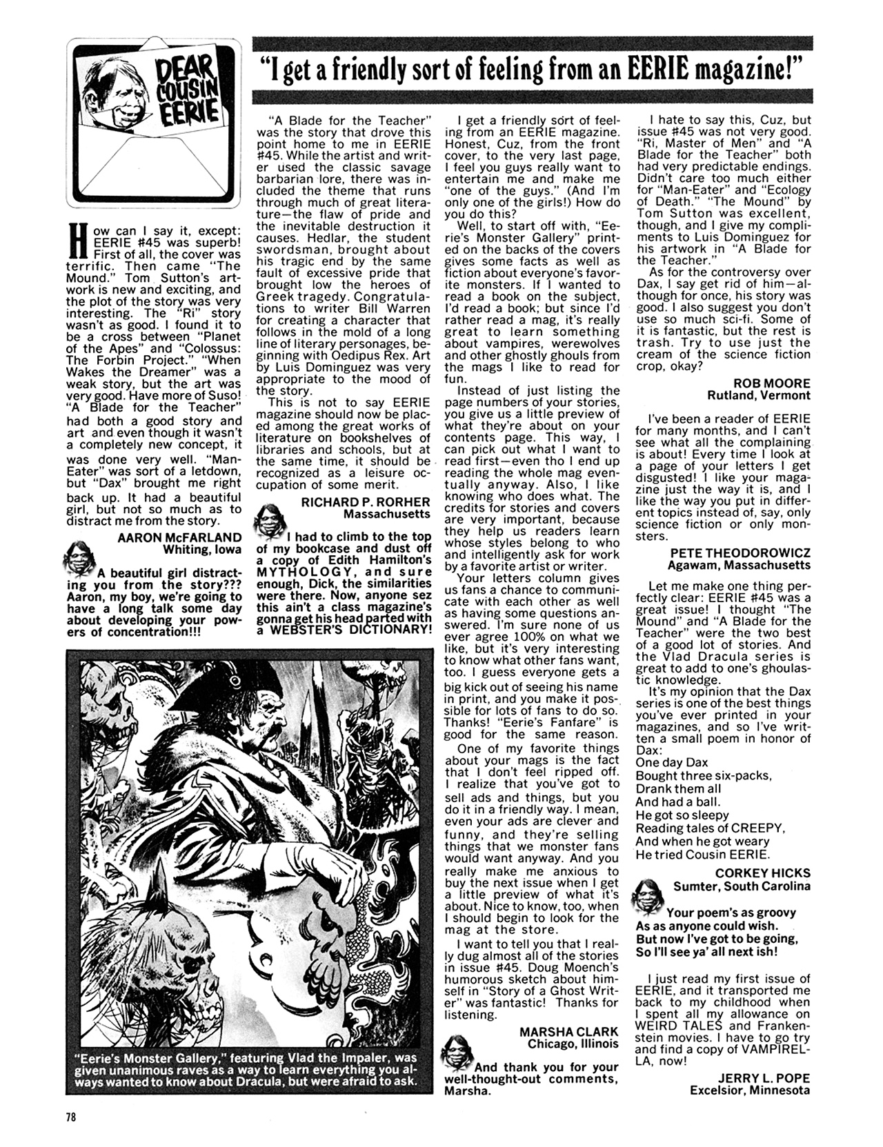 Read online Eerie Archives comic -  Issue # TPB 10 - 79