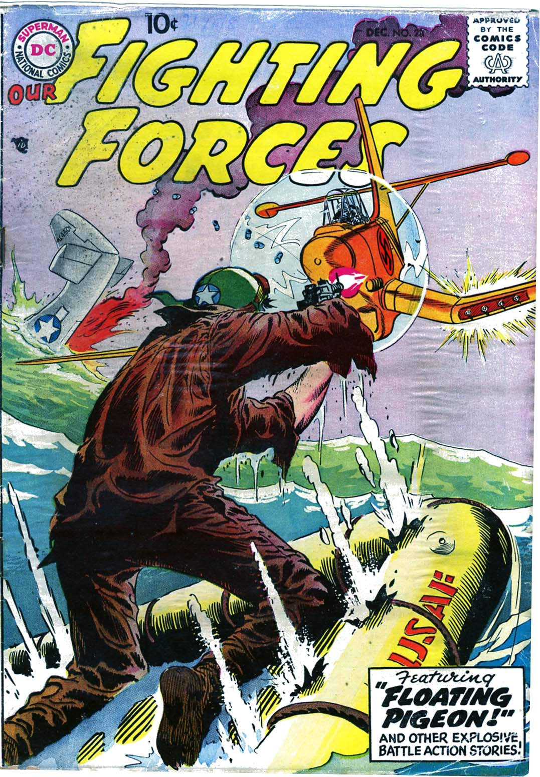 Our Fighting Forces (1954) issue 28 - Page 1
