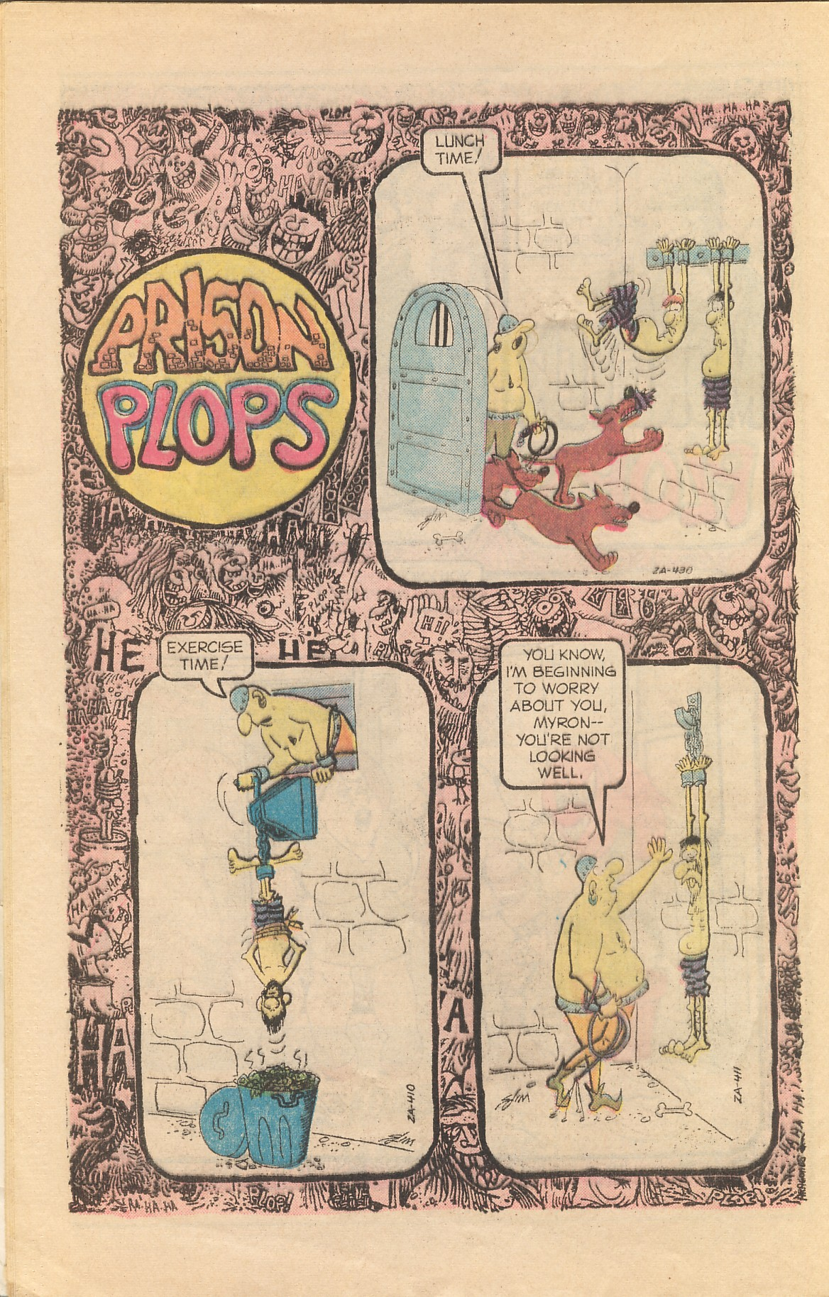 Read online Plop! comic -  Issue #20 - 32