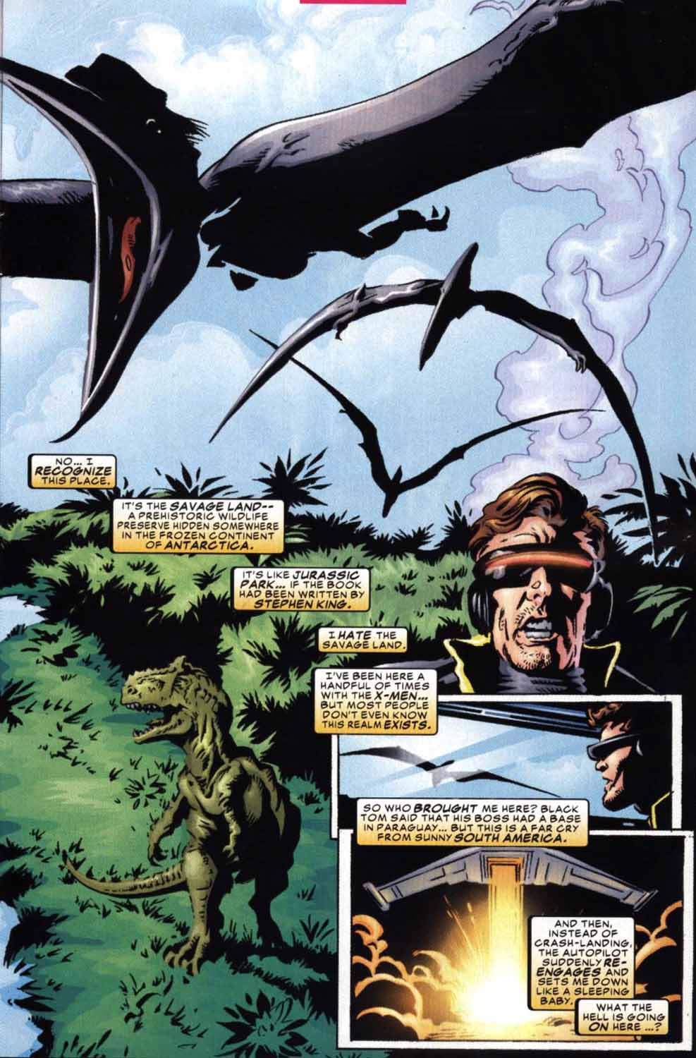 Read online Cyclops (2001) comic -  Issue #2 - 8