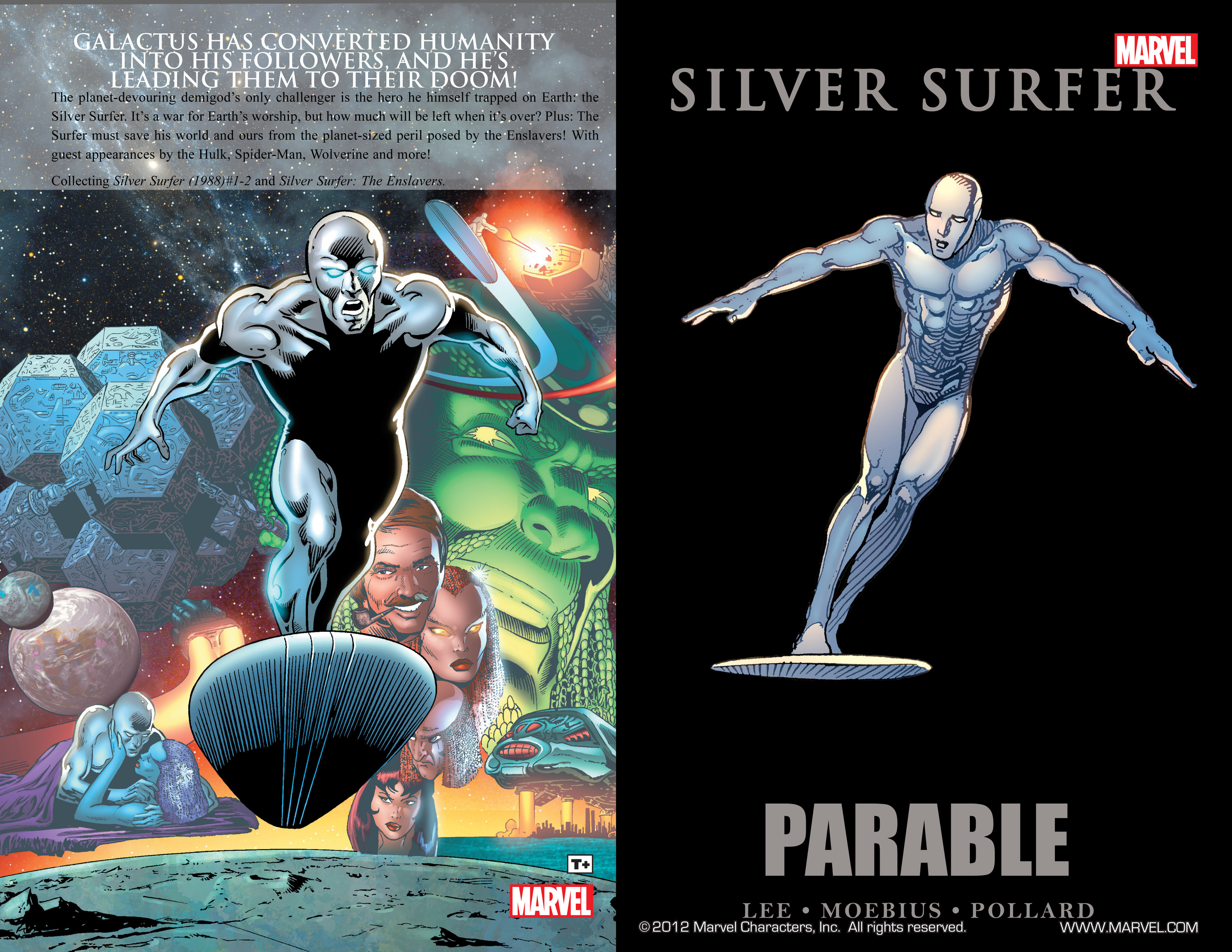 Read online Silver Surfer: Parable comic -  Issue # TPB - 2