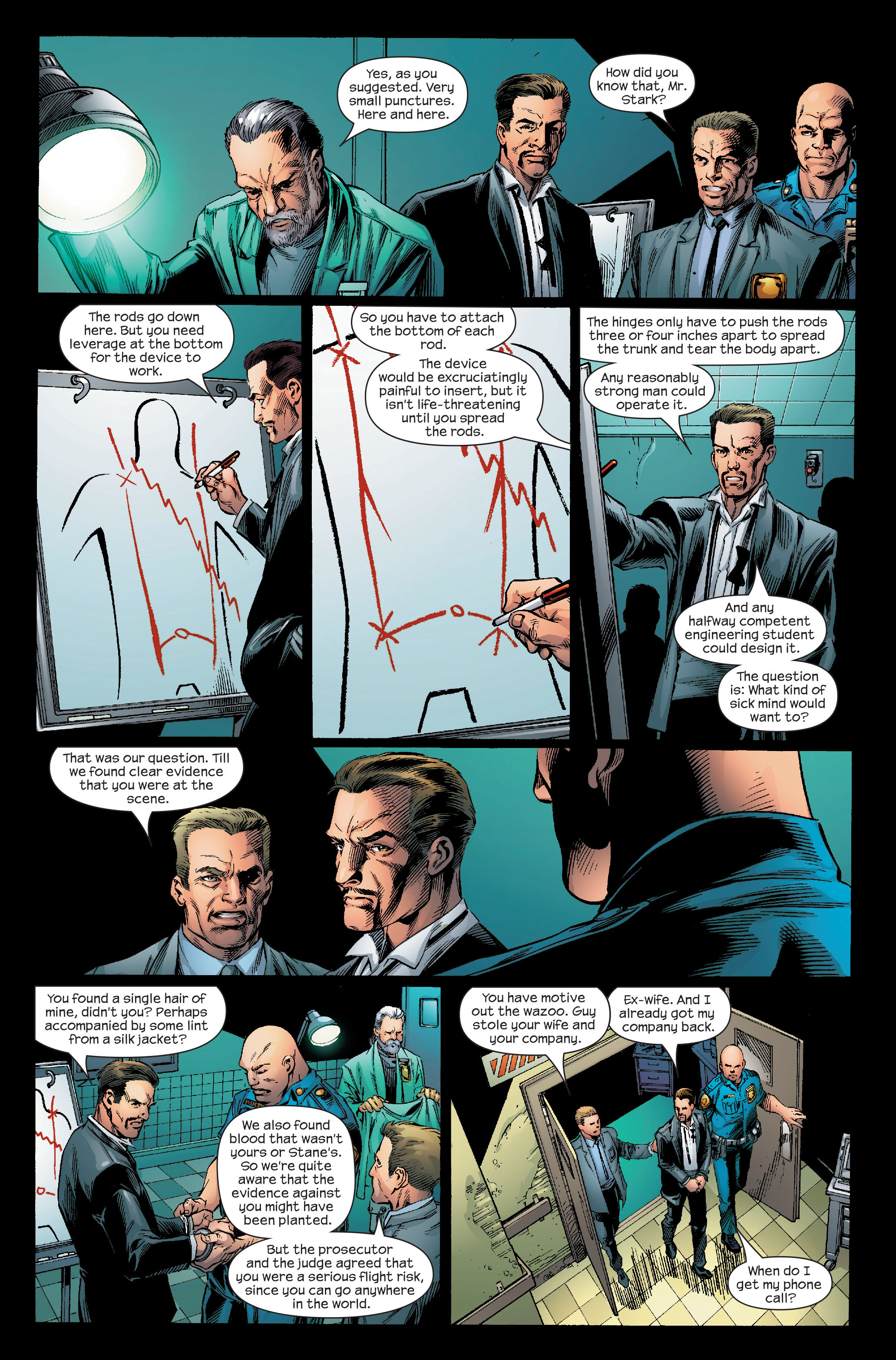 Read online Ultimate Iron Man (2005) comic -  Issue #5 - 13