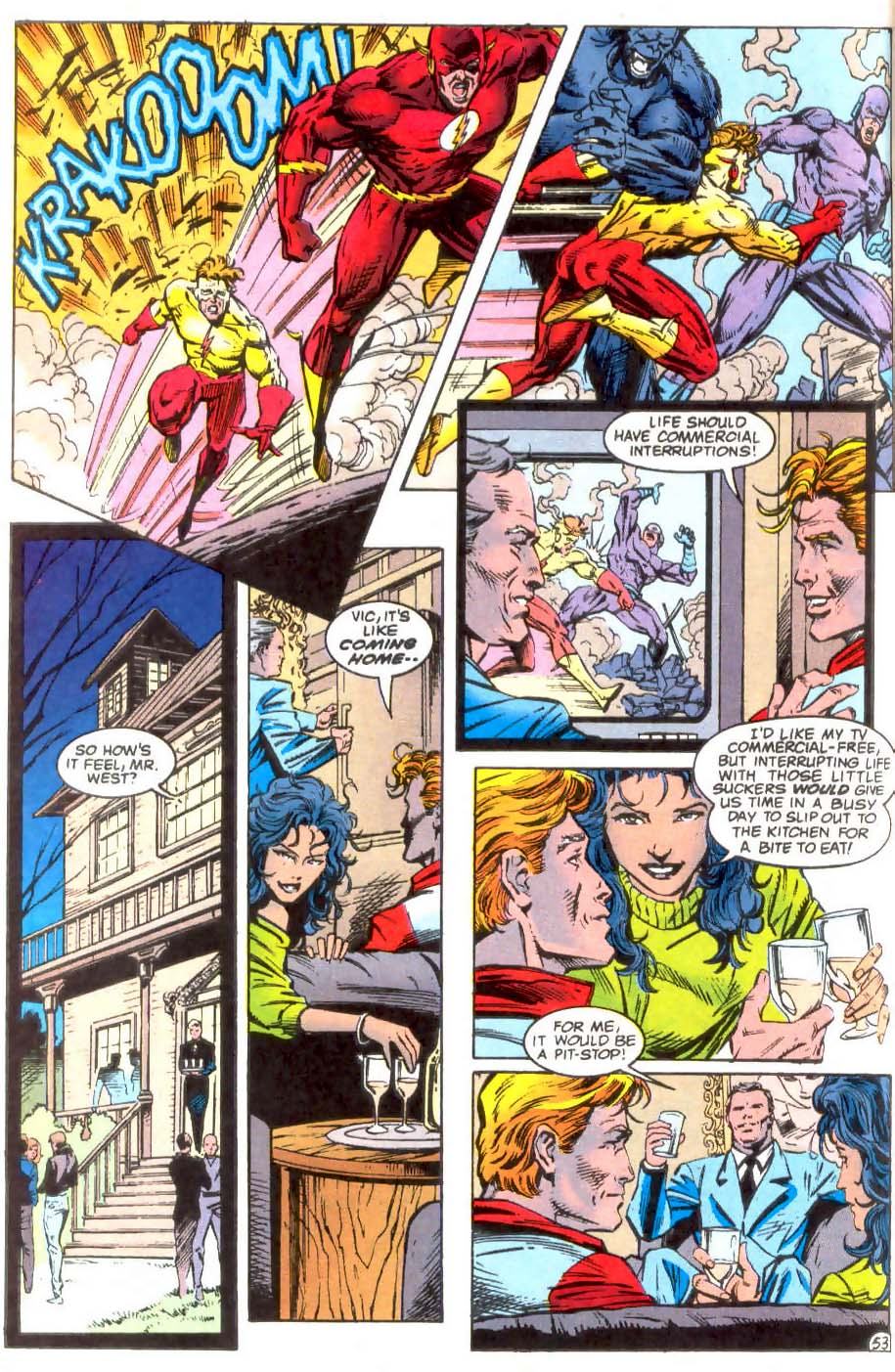 Read online The Flash (1987) comic -  Issue # _Annual 7 - 54