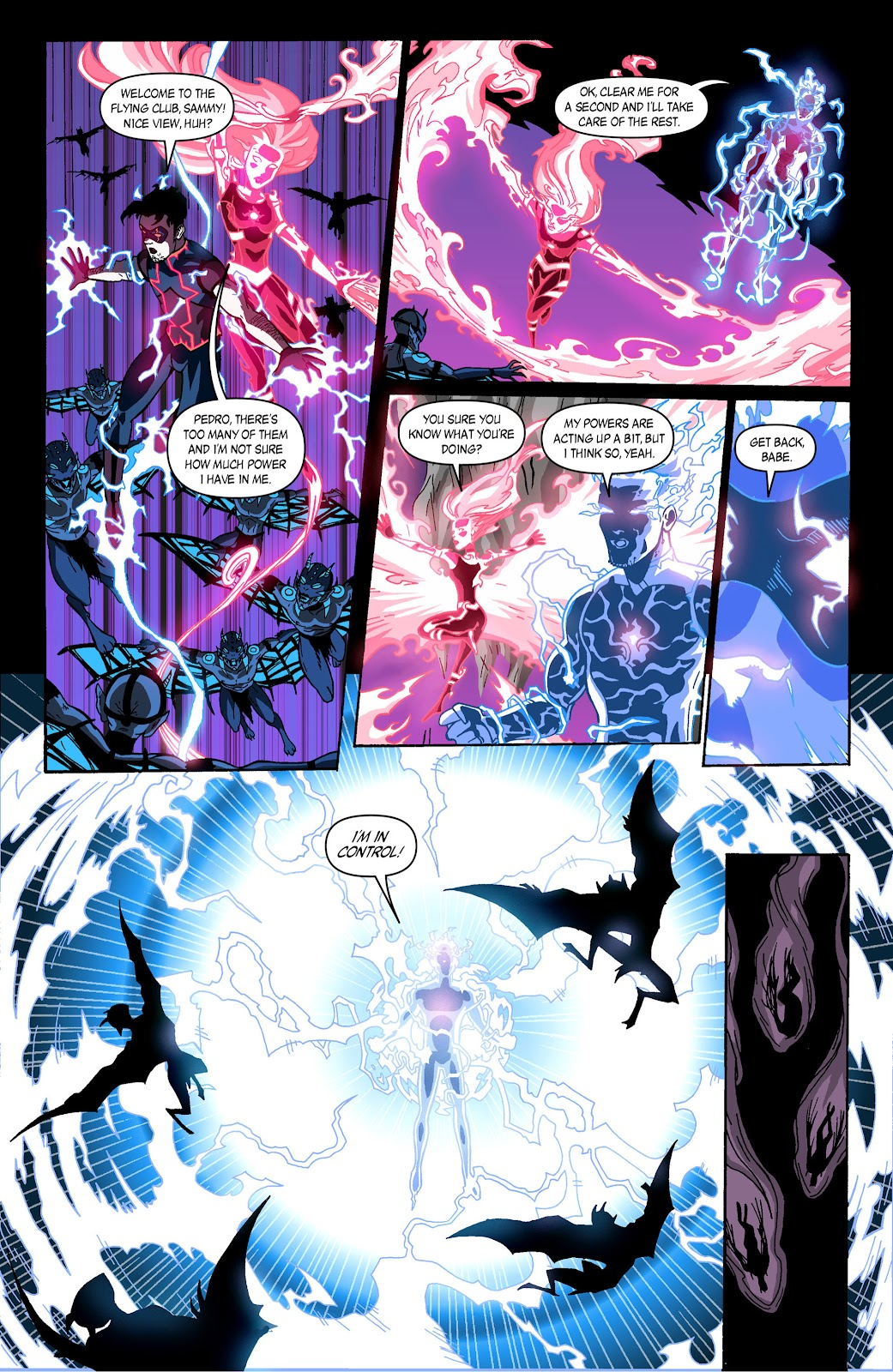 Sentinels issue 3 - Page 12