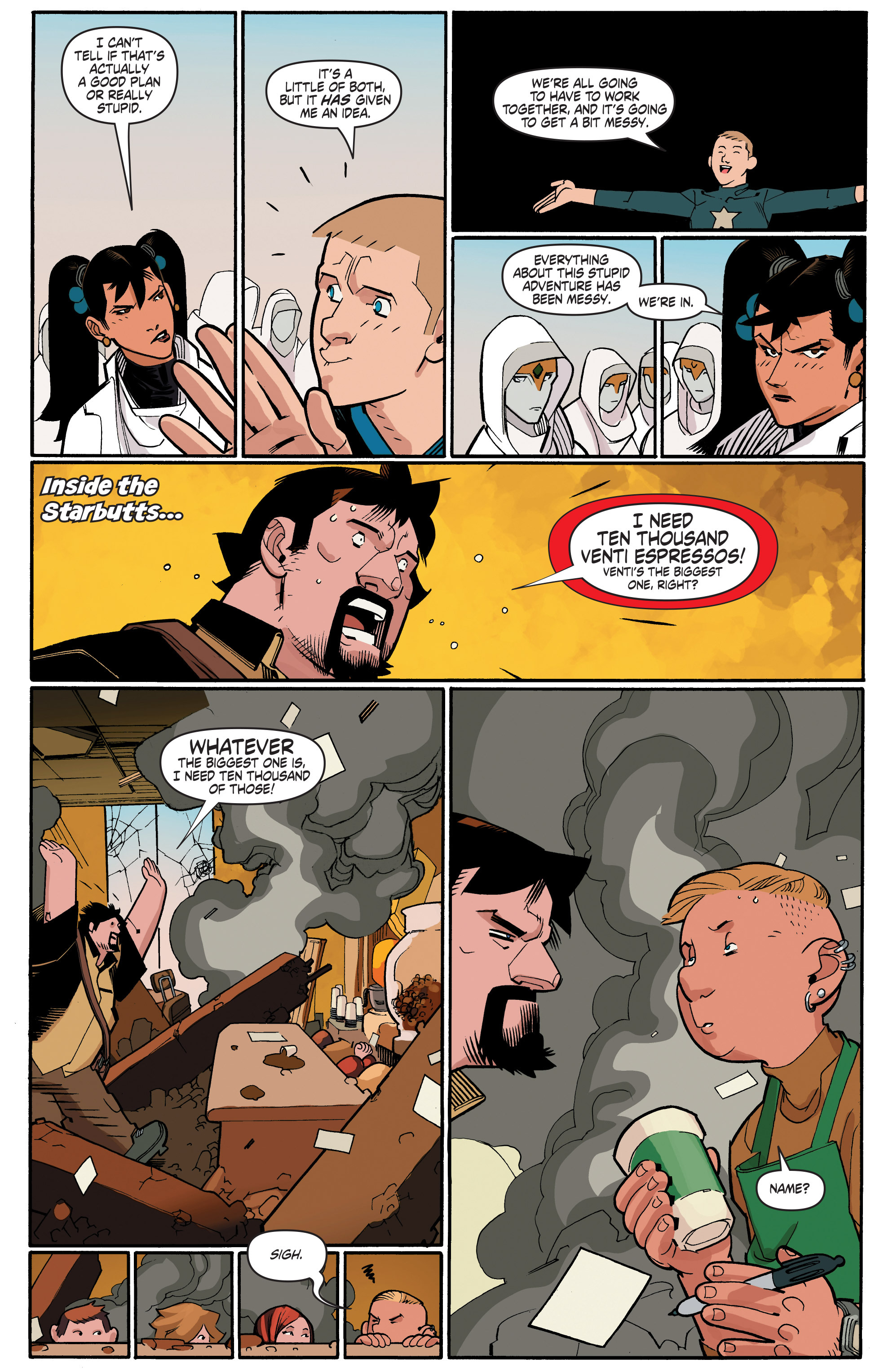 Read online A&A: The Adventures of Archer & Armstrong comic -  Issue #4 - 13