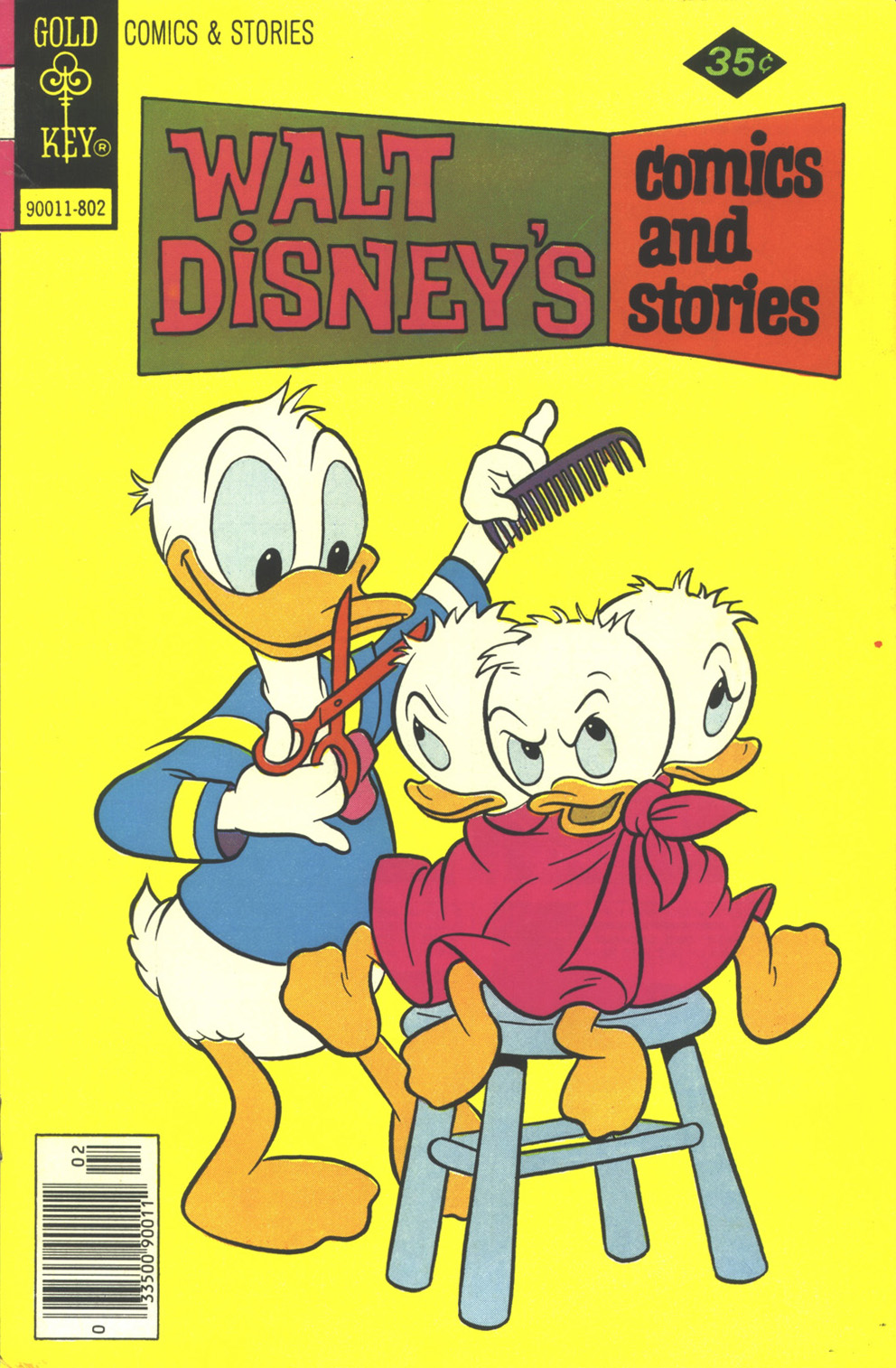 Walt Disney's Comics and Stories issue 449 - Page 1