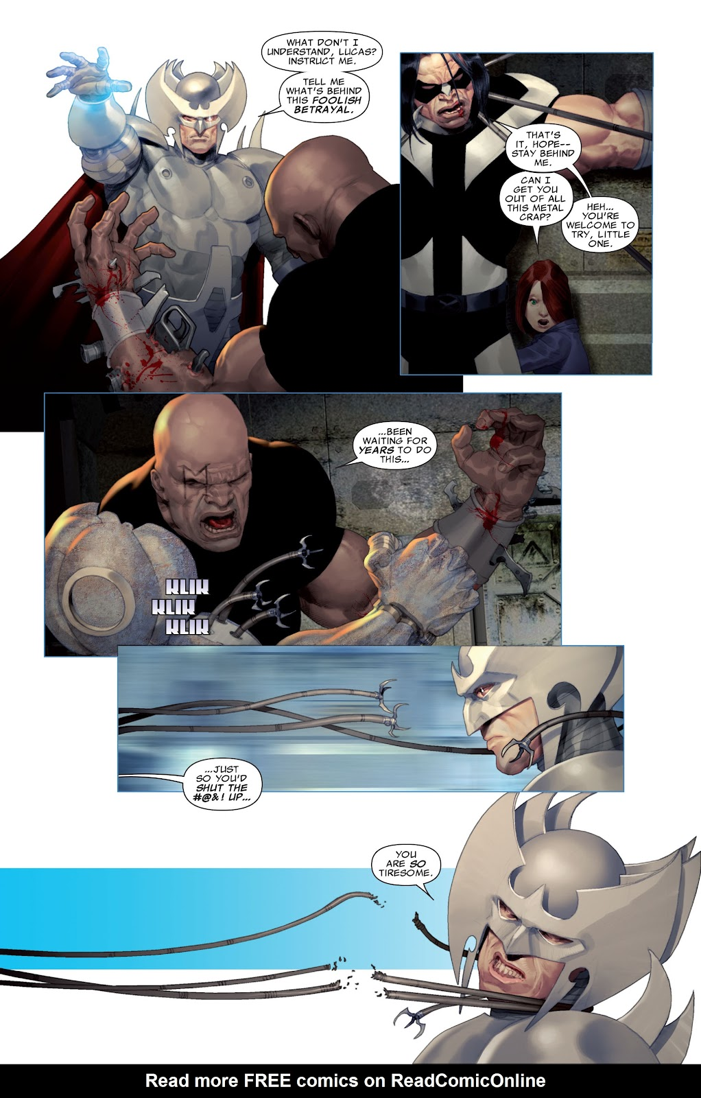 Read online X-Force/Cable: Messiah War comic -  Issue # _TPB (Part 2) - 58