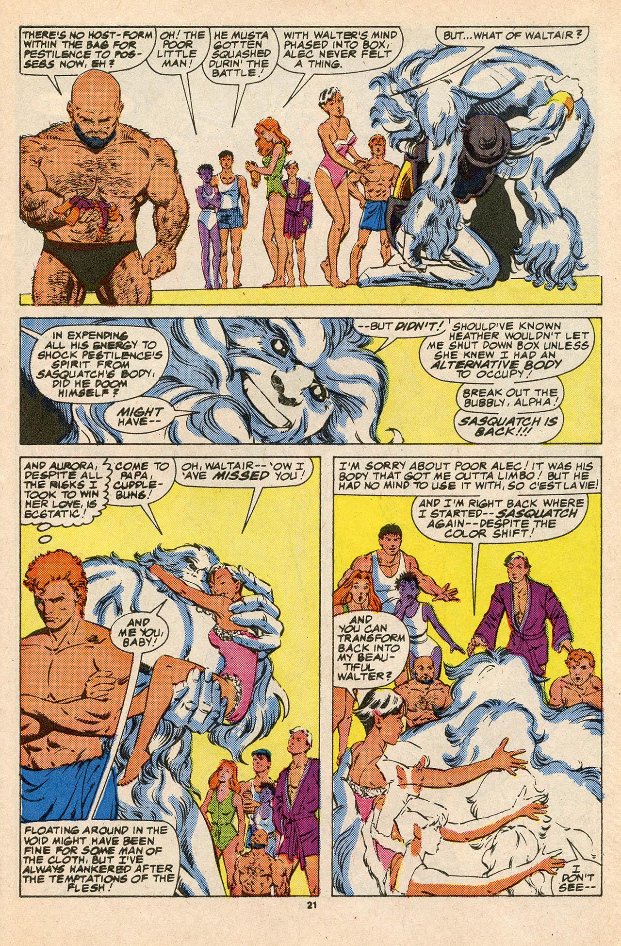 Read online Alpha Flight (1983) comic -  Issue #45 - 31