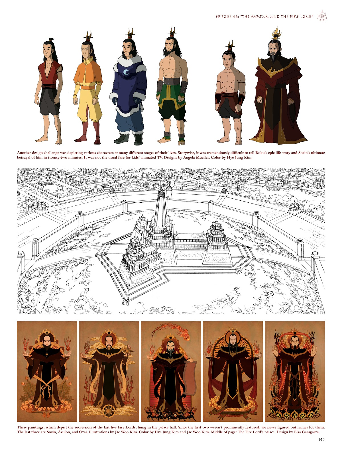 Read online Avatar: The Last Airbender - The Art of the Animated Series comic -  Issue # TPB (Part 2) - 42