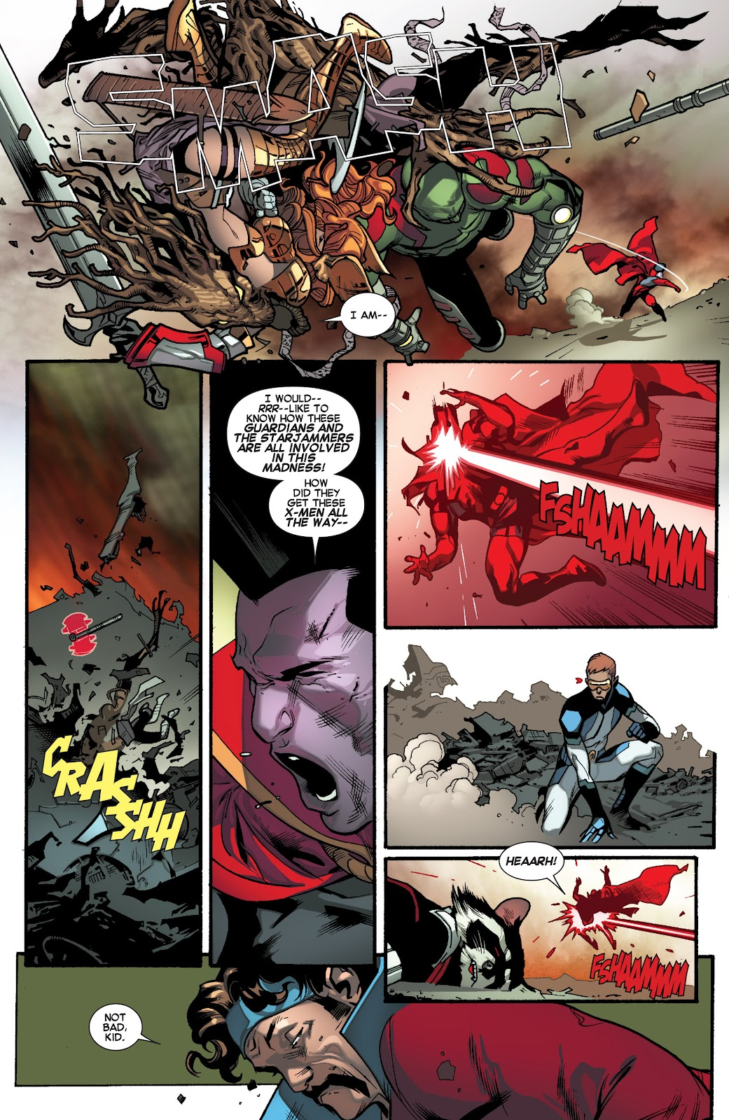 Guardians of the Galaxy/All-New X-Men: The Trial of Jean Grey issue TPB - Page 94