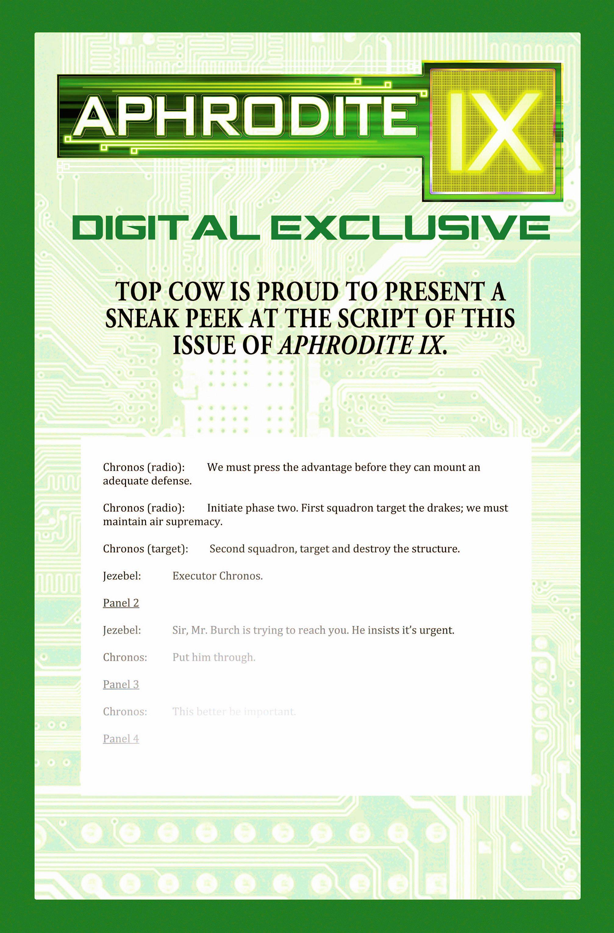 Read online Aphrodite IX (2013) comic -  Issue #5 - 26