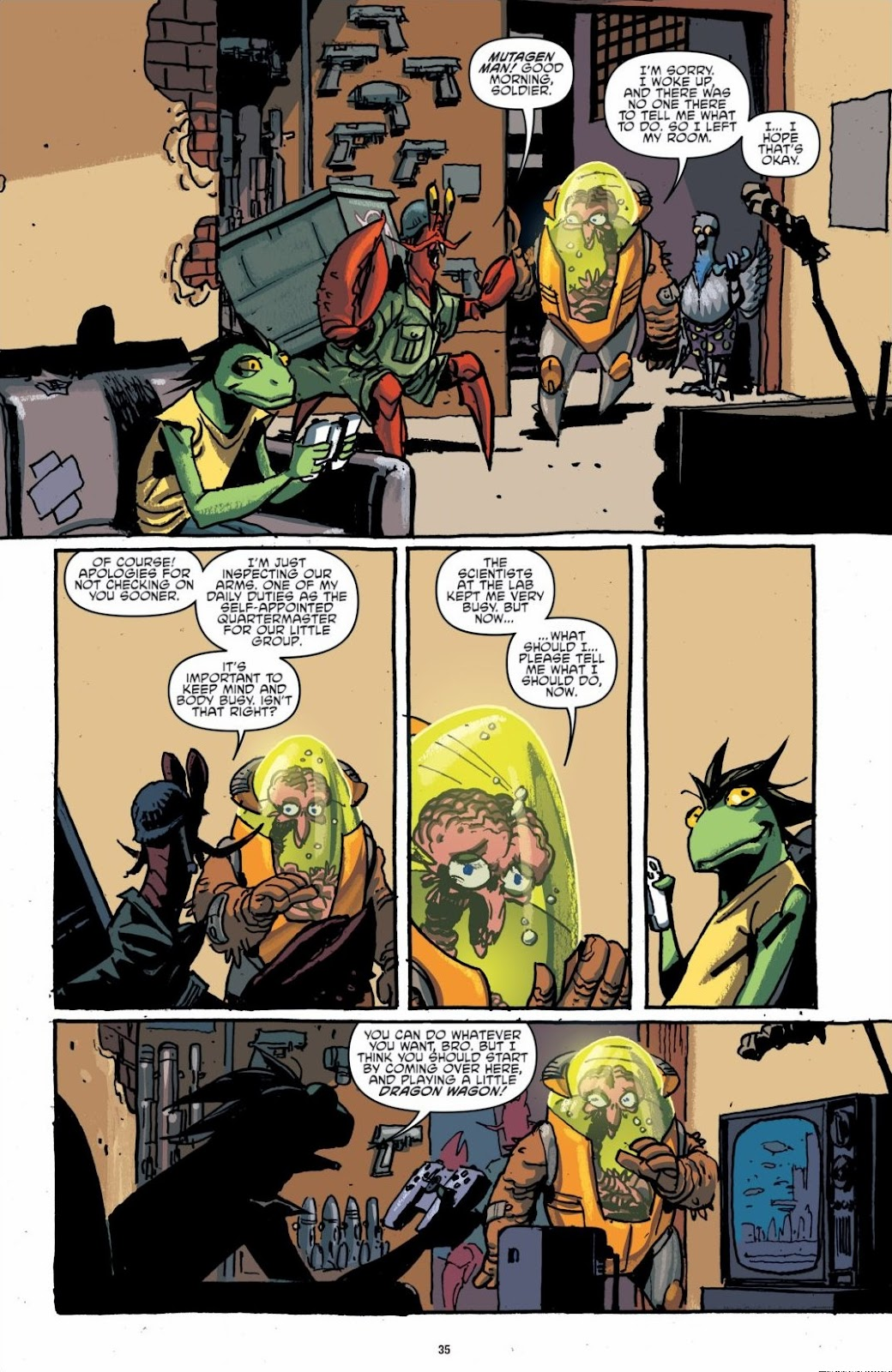 Read online Teenage Mutant Ninja Turtles: The IDW Collection comic -  Issue # TPB 6 (Part 1) - 34
